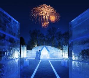 氷の教会image9 夜 花火