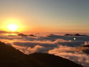 雲海&日の出