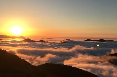 【雲 海】&【日の出】感動の眺望