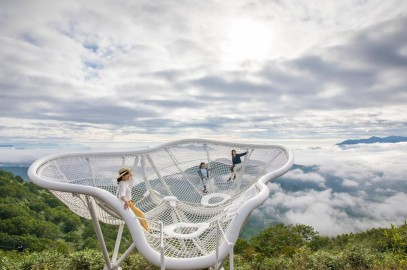 昨年6月10日「雲海テラス」から最高の雲海発生